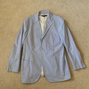 NWOT Ralph Lauren Seersucker Blazer Men's Sz XL